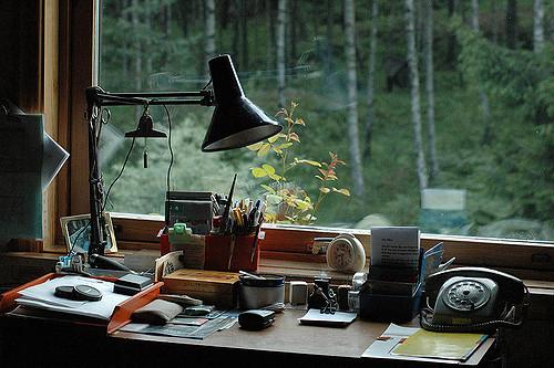 aménager son bureau pour écrire un livre