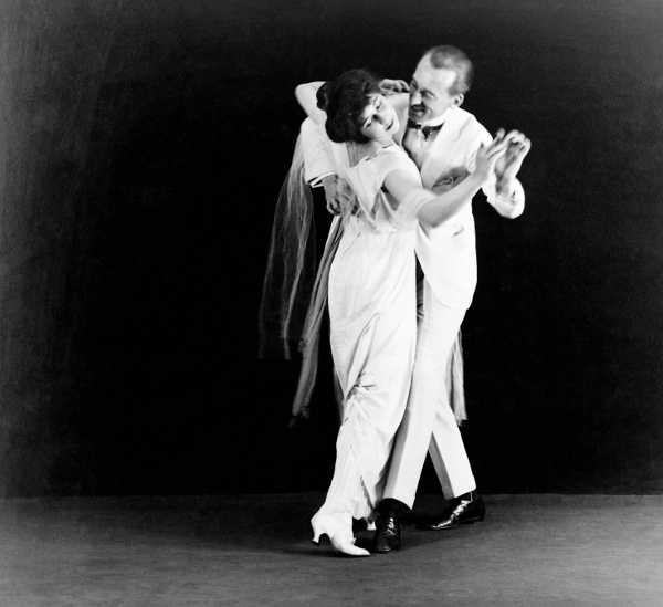 Danse Irene et Vernon Castle vers 1912