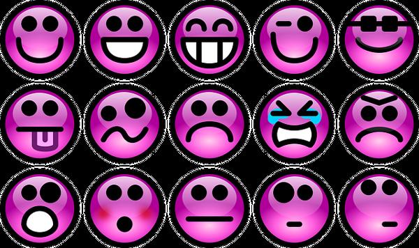 émotions sentiments adjectifs