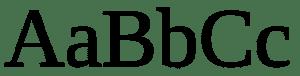 empattements serif