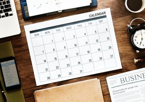 organisation pour écrire planning deadline