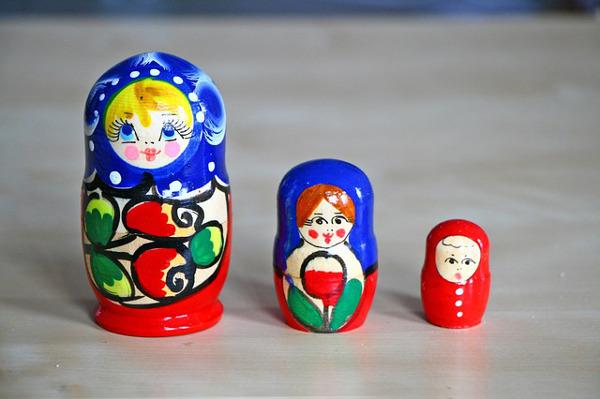 poupées russes souvenirs mémoire